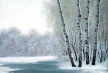 Ölmalerei Landschaften