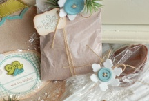 brown paper packages tied up with string / by Connie K.