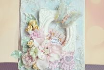 Cards i like - clay/resin/stone plaster embellishment / by Dorthe Pabst