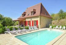 Vakantiehuizen met privézwembad in de Dordogne