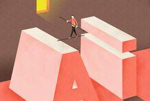 Business week illustration / 商業週刊插圖