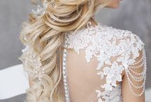 Wedding hairstyles / hair