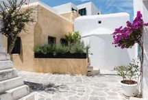 Traditional Greek island house