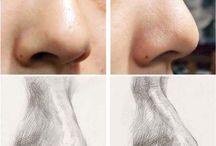 Рисунок носа