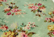 old floral carpets/rugs