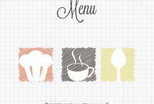 Free menu template