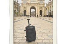 ¿Donde estuvo esta DELSEY? / Adivina en que lugar estuvo cada una de nuestras maletas.