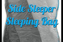 Camping Sleeping Gear / Anything needed to get a good night's sleep while at a festival.