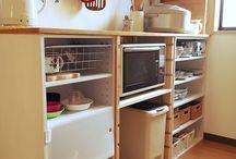 食器棚 diy