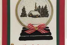 versatile christmas stamp set cards