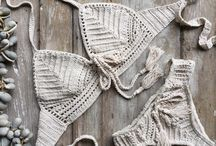 traje de baño en crochet