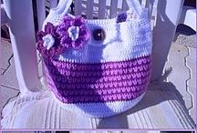 Crochet Bags / by Mitzy Wedd
