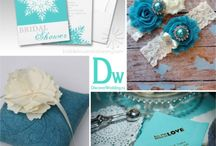 Blue Vintage Wedding / Blue Wedding Ideas