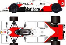 F1 amarcord / vetture di F1 del lontano e recente passato