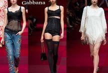 Dolce & Gabbana / Dolce & Gabbana collezione e catalogo primavera estate e autunno inverno abiti abbigliamento accessori scarpe borse sfilata donna.