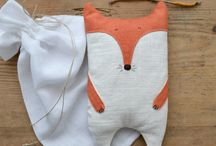 Fox Projects / Sewing ideas and projects for foxes