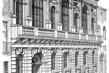 rysunki architektoniczne- architectural sketches