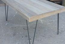 Mesas madera