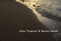 Sunsets at Shacks Beach, Isabela, PR / Sunsets on Shacks Beach are often surprisingly extraordinary.