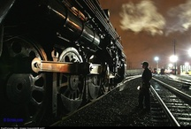 trains / by Chandra LaVoy Winzenried