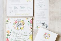 Invitations & Stationery / Inspiration for invitations for weddings and other events.