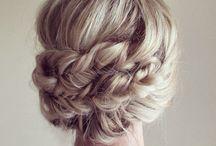 Sabrinas bryllups hår