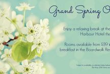 Special Offers & Promotions / Highlights of our special offers & promotions.  Visit our website for full details www.grandharbourhotel.co.uk