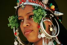 Ethnic women portraits/Headdresses