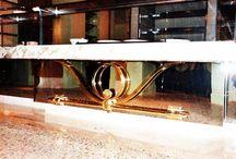 Hospitality Design / Interior metal design and metal fixtures for hotels, casinos & restaurants.