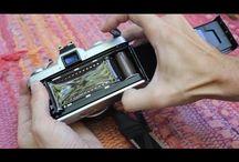 Double exposure in film camera