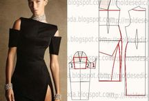 Pattern  draft  dress