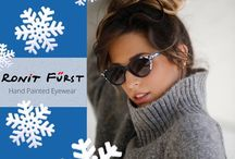 Ronit Furst / Hand painted eyewear from Israel.