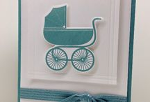 Something for Baby SU / This stamp set has a co-ordinating thinlit for the Big Shot. For all your Stampin Up goodies  - current items available to purchase from http://bagsthatone.stampinup.net/