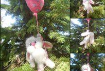 Melkada - needle felted gifts / A needle felted magical wonderland of elves, fairies, all kinds of animals. Anything you can imagine - I can make! Custom orders are very welcome! melkada.com  https://www.facebook.com/melkadafelt https://www.etsy.com/shop/Melkada https://www.amazon.com/handmade/MicukaMelkada