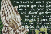 Ffald y Brenin blessings
