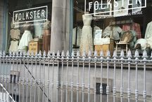 The Folkster Family & Stores / Here's a little look at our team and stores! Come and visit us in Ireland at 27 Patrick Street, Kilkenny, and 9 Eustace Street, Dublin 2 :)