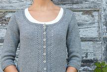 Strikkajakker - knitted cardigans
