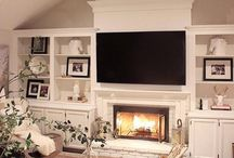 Fire place lounge