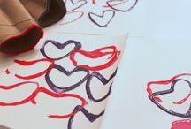 Art Room - Printmaking/Stamping