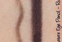 My Eyeliner Swatches
