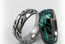 New and Unique / Special edition titanium rings, limited editions, new rings models and styles !