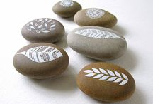 Piedras pintadas / Piedras dibujadas, pintadas, recreadas
