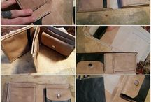 My own  leather work / the small things that i do from leather .
