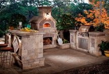 Outdoor Kitchens / These would be a perfect fit to a Tiny House community, or even if you just want a bit of extra space for entertaining in your tiny house. They could be made to be portable, or if you own the land, built as a permanent feature.