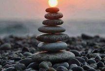 Stones n sunset