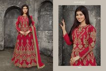 2616 Gulkand Mulbery Silk With Heavy Chain and coding work Suits