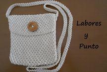 Bolsas/Bolsos a Crochet
