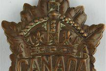Canada insignes ( passendale)ww1