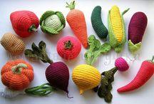 Häkeln - Gemüse - sonstiges
