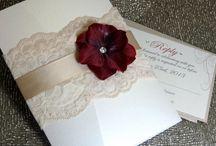 Wine red wedding theme
